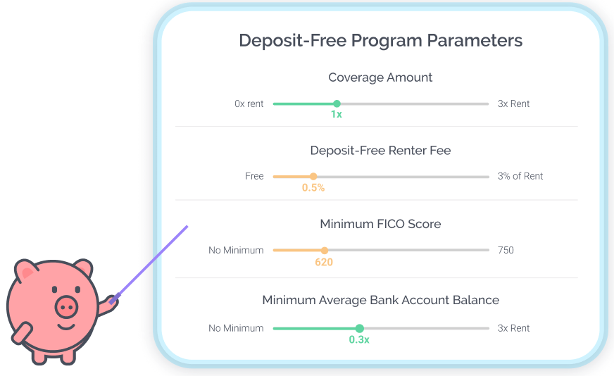 Custom Deposit-Free Program